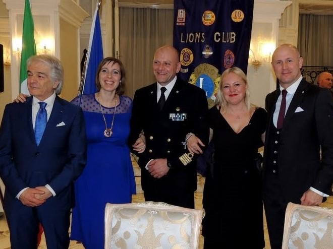 Lions Club and Italian Navy, Italian training ship Amerigo Vespucci