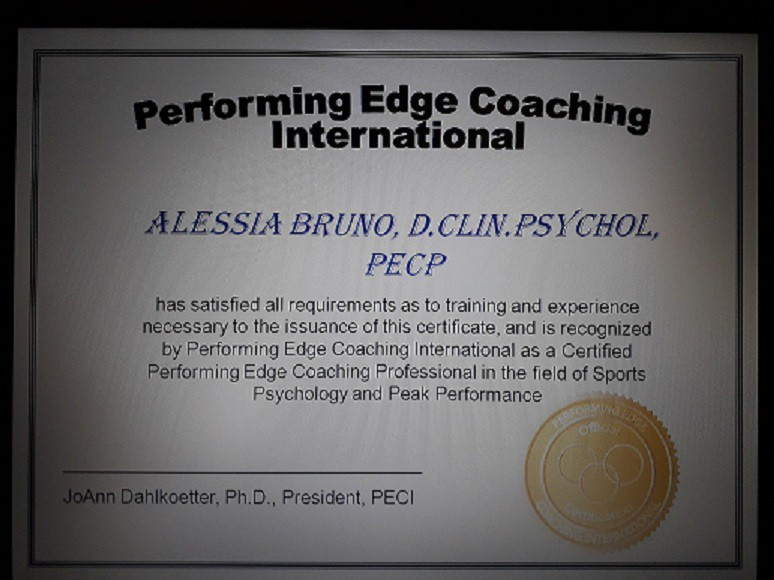 Training in Coaching and NLP